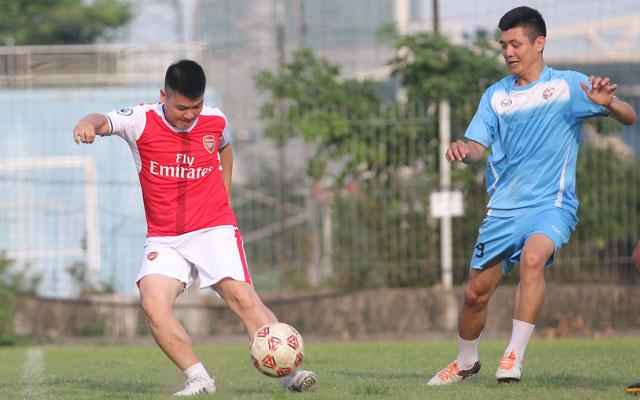 FC Nguyễn Trãi hòa FC Tiền An trong trận cầu có 10 bàn thắng