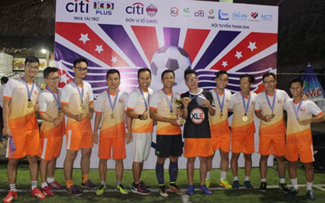 XLE vô địch giải Futsal Citibank mở rộng 2017