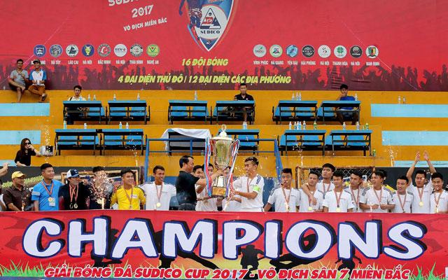 BIDV Quang Trung đăng quang đầy bản lĩnh tại Sudico Cup 2017