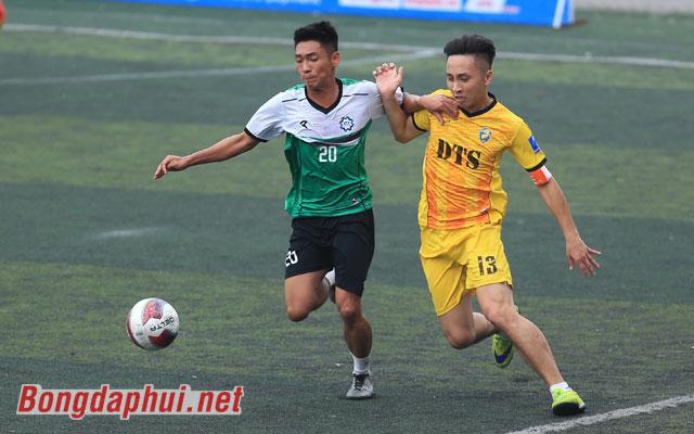 Highlight DTS 1-1 Khương Thượng (bảng B giải Moca - cúp Báo Bóng đá 2017)