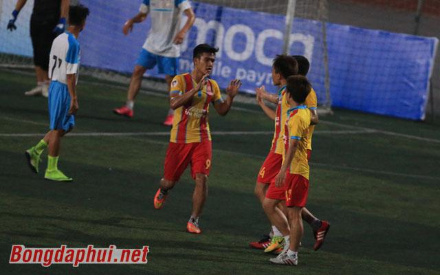Highlight Nguyễn Trãi 1-2 MV Corp (bảng D giải Moca - cúp Báo Bóng đá 2017)
