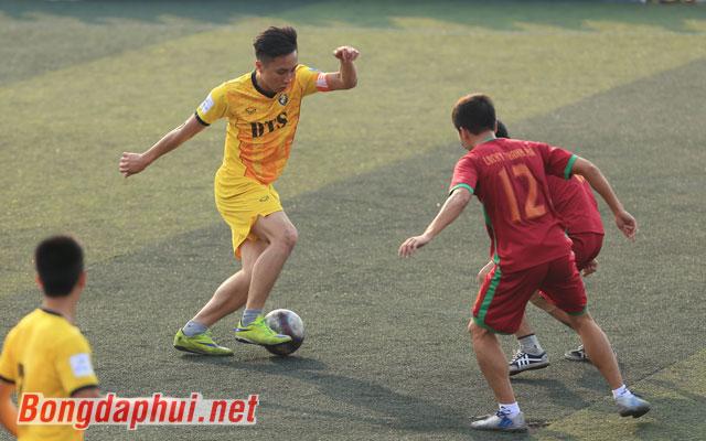 Highlight DTS 3-1 Lucky Thanh Hà (bảng B giải Moca - cúp Báo Bóng đá 2017)