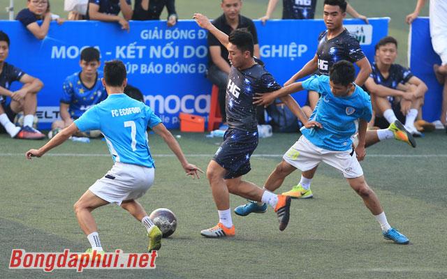 Highlight Ecofoot 3-0 Đại Việt SC (bảng A giải Moca - cúp Báo Bóng đá 2017)