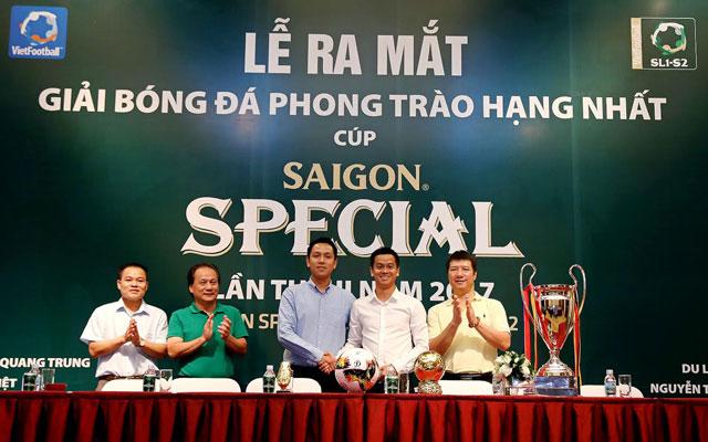 Lễ ra mắt giải bóng đá phong trào hạng Nhất - Cúp Saigon Special lần thứ 2 năm 2017