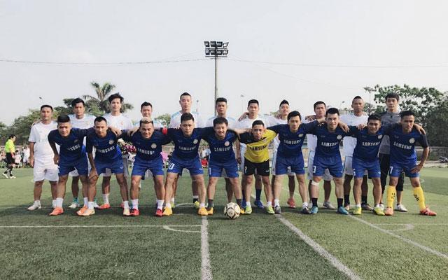 """HAT của ca sỹ Tuấn Hưng hòa FC Nam Sách 4-4 trong trận cầu """"Chắp cánh ước mơ"""""""