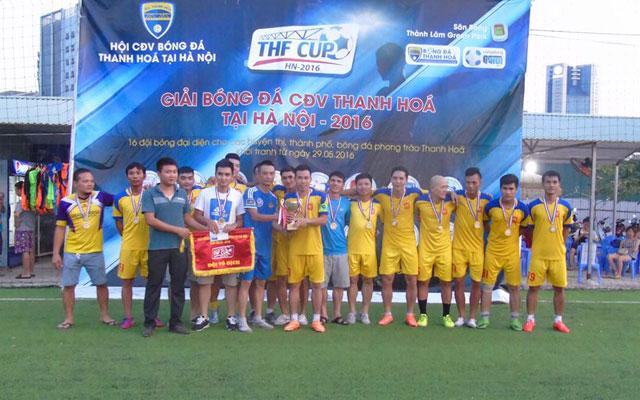 THF Cup 2017: Niềm đam mê mang đậm bản sắc xứ Thanh