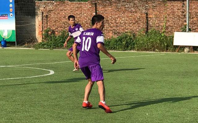 Vòng 10 Ngoại hạng Sơn Tây: FC Anh Em vô địch thuyết phục