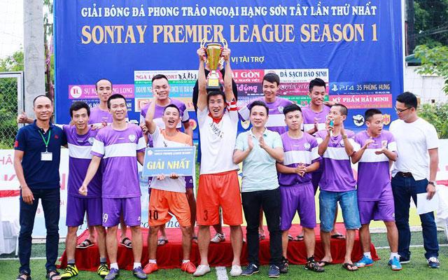 Vòng 11 Ngoại hạng Sơn Tây: FC Police gây sốc trước FC Anh Em