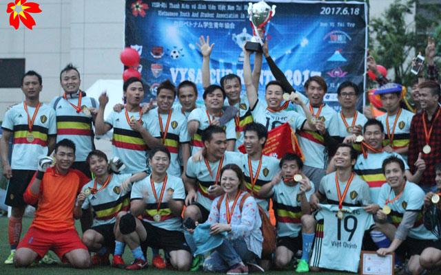 Apolo FC vô địch VYSA Cup Kanto 2017