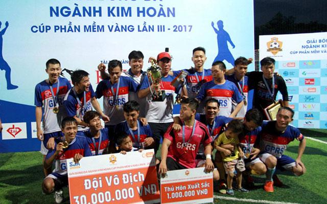 Đức Thắng GPRS vô địch giải ngành Kim Hoàn 2017