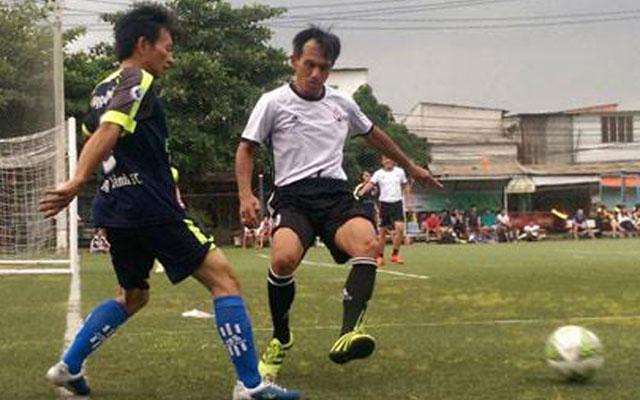 Cựu cầu thủ Cảng Sài Gòn hội tụ ở cúp Đỉnh Phú 2017