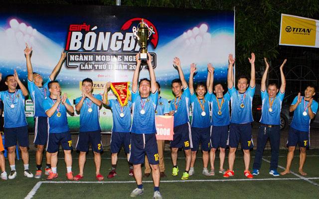 FC Mobile Vinh vô địch giải bóng đá ngành Mobile Nghệ An 2017