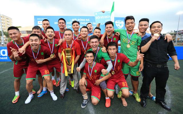 Thắng Ecofoot 2-0, Lucky Thanh Hà vô địch giải Moca - Cúp Báo Bóng Đá 2017