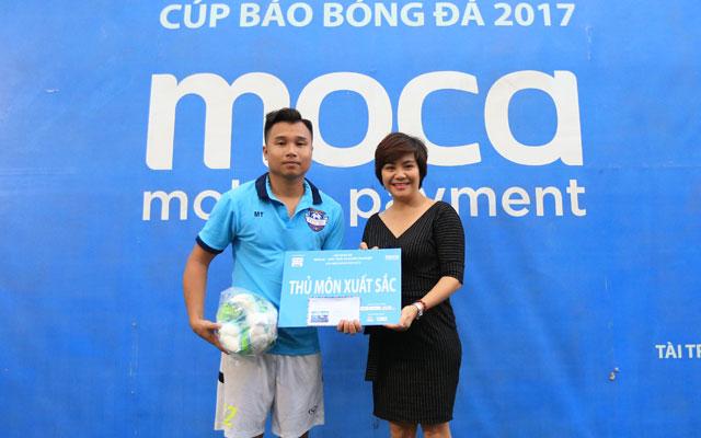 Đội hình tiêu biểu giải Moca – Kết nối doanh nghiệp - Cúp Báo Bóng Đá 2017