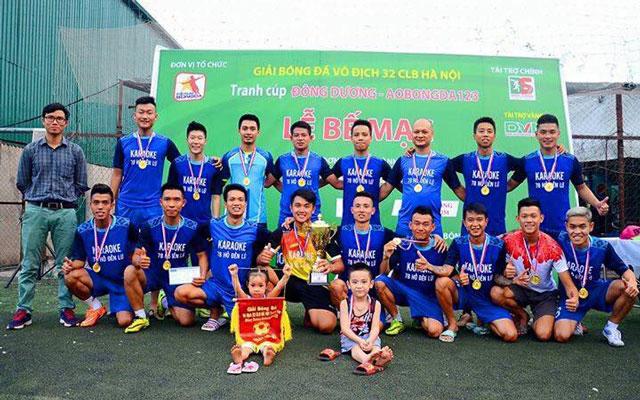Thắng Vĩnh Quỳnh 2-1, Sô Pồ vô địch giải 32 CLB Hà Nội Cúp Đông Dương