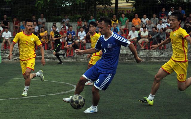 Vòng 7 Vinh League: Đánh bại Văn Minh, FC Á Đông chiếm ngôi đầu bảng