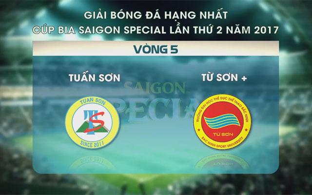 Highlight Tuấn Sơn 4-2 Từ Sơn+ (vòng 5 SL1-S2)