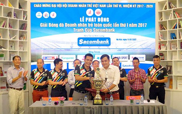 Phát động Giải Bóng đá Doanh nhân trẻ toàn quốc lần thứ I