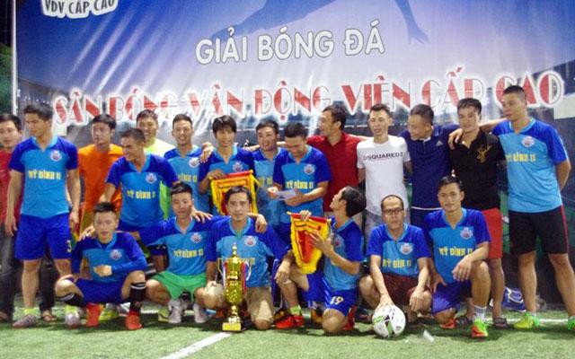 FC Mỹ Đình II vô địch giải bóng đá sân VĐV cấp cao 2017