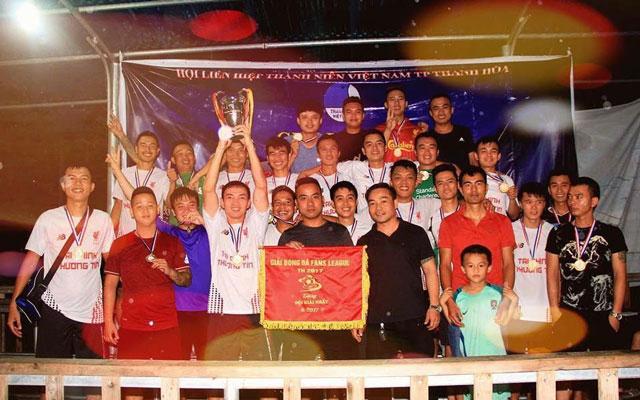 LFCTH vô địch giải bóng đá Fans League Thanh Hoá lần I