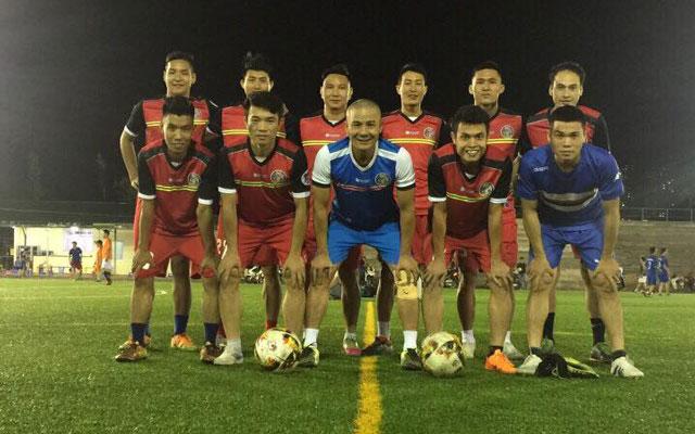 Hà Tây thua Trà Dilmah 5-7 trong trận giao hữu