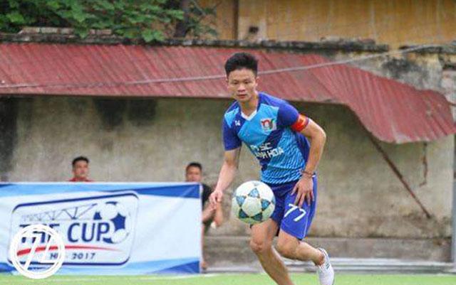 """Linh """"mực"""", cánh chim đầu đàn của FC Nghi Sơn"""