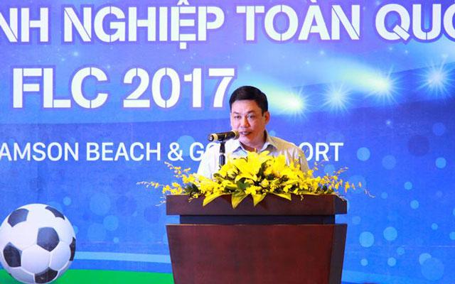 Bốc thăm giải bóng đá doanh nghiệp toàn quốc Cúp VCCI - FLC năm 2017