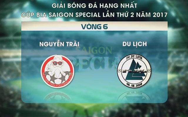 Highlight Nguyễn Trãi 2-0 Du Lịch (vòng 6 SL1-S2)