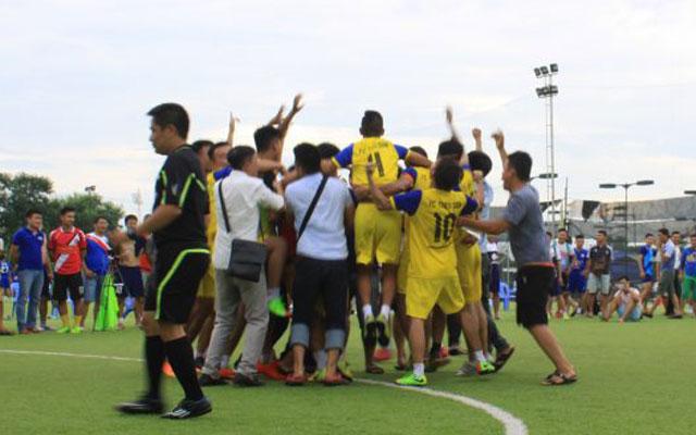 Bán kết THF Cup 2017: Tứ hùng chạy nước rút
