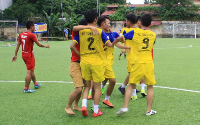 THF Cup 2017: FC Nghi Sơn và FC Triệu Sơn vào chung kết