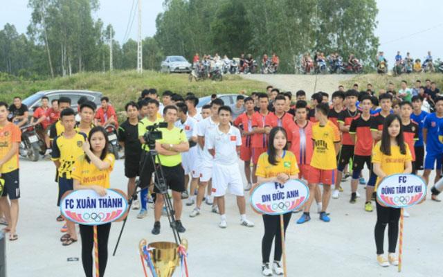 Khai mạc Giải bóng đá U23 Yên Thành mở rộng lần 1