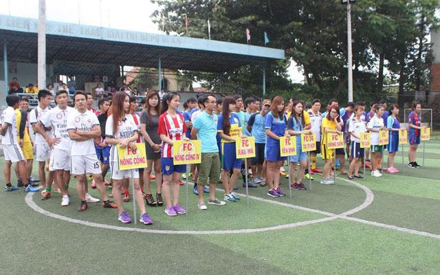 Khai mạc giải bóng đá phong trào do Group Thanh Hóa tại miền Nam tổ chức