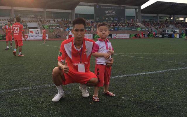 Đình Vượng, cầu thủ hiệu quả nhất FC Suzika Hữu Bằng