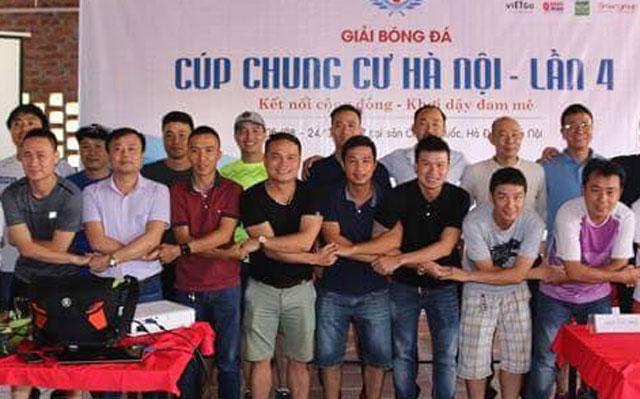 Bốc thăm chia bảng giải bóng đá Cúp chung cư Hà Nội lần 4 năm 2017