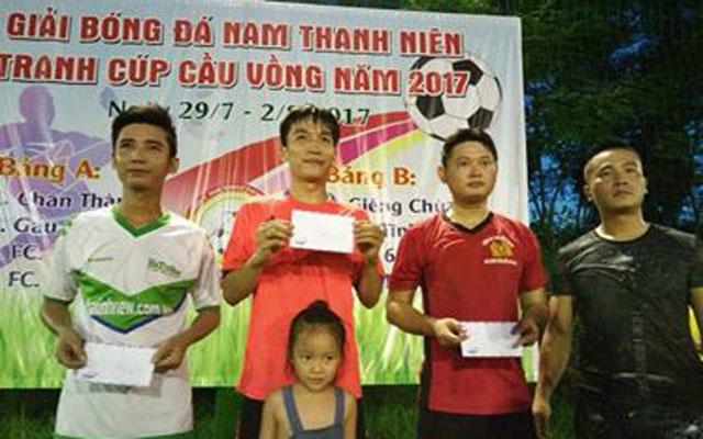 Phủi Hà Tĩnh: FC Panelka lên ngôi vô địch cúp Cầu Vồng 2017