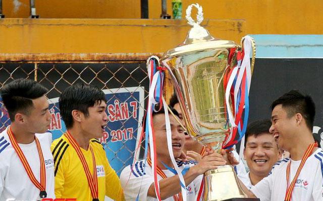 BIDV Quang Trung, đội bóng phủi giàu tham vọng