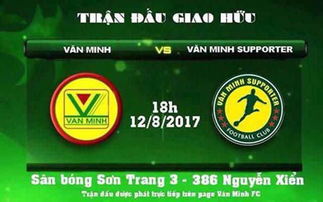 Văn Minh FC đấu với fan đội nhà, chuyện lạ làng phủi