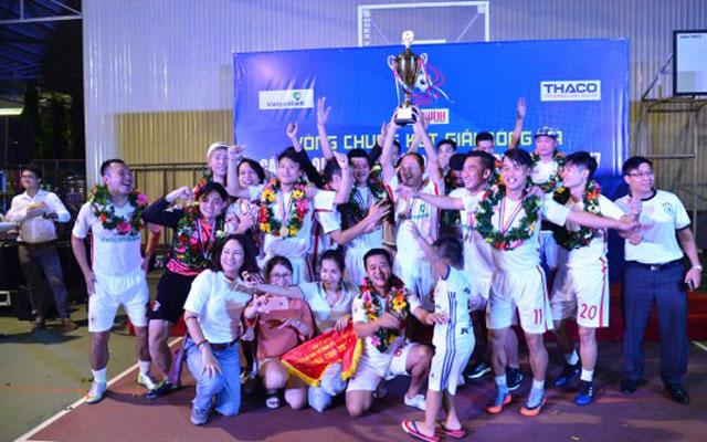 VTV vô địch giải bóng đá các cơ quan báo chí toàn quốc 2017