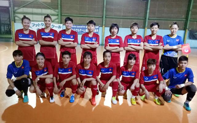 """HLV Trương Quốc Tuấn: """"ĐT Futsal nữ Quốc gia đã sẵn sàng cho SEA Games 29"""""""