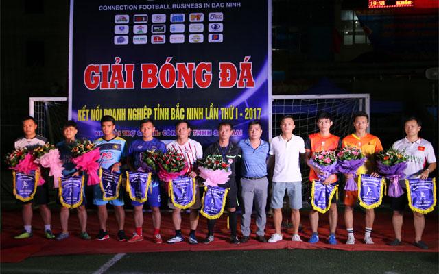 """Khai mạc giải bóng đá """"Kết nối doanh nghiệp tỉnh Bắc Ninh lần I - 2017"""""""