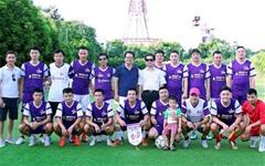 FC Ngôi Sao đá giao hữu, quyên góp, ủng hộ đồng bào vùng lũ lụt Mù Cang Chải - Mường La