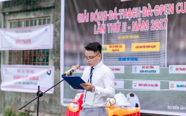 Khai mạc giải bóng đá Thạch Đà Open Cup lần 2 năm 2017