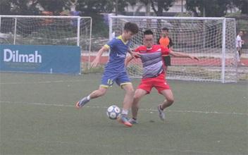 Giải Vô Địch Sân 7 Hà Nội – KV1: HBG thắng đậm nhất