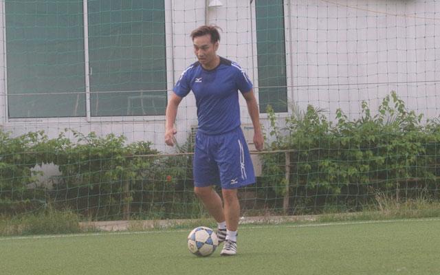MC Thành Trung và niềm đam mê đá bóng phủi