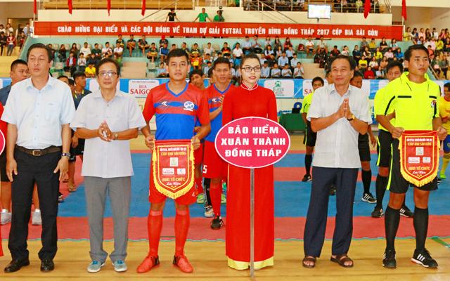 Khai mạc giải Futsal Truyền hình Đồng Tháp tranh cúp Bia Sài Gòn lần 2 năm 2017