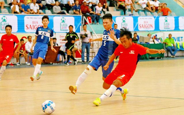 Xác định xong 4 đội vào bán kết Futsal TH Đồng Tháp tranh Cúp Bia Sài Gòn