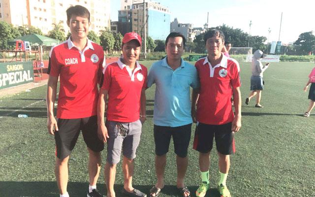 Câu chuyện thú vị về ban huấn luyện của FC Tuấn Sơn