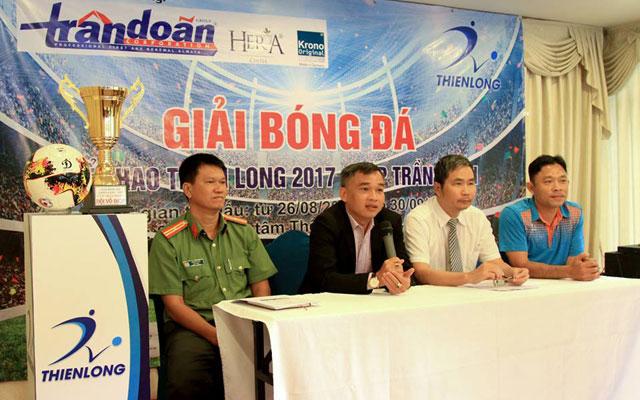 Khởi tranh giải bóng đá Thiên Long 2017 – Cúp Trần Doãn