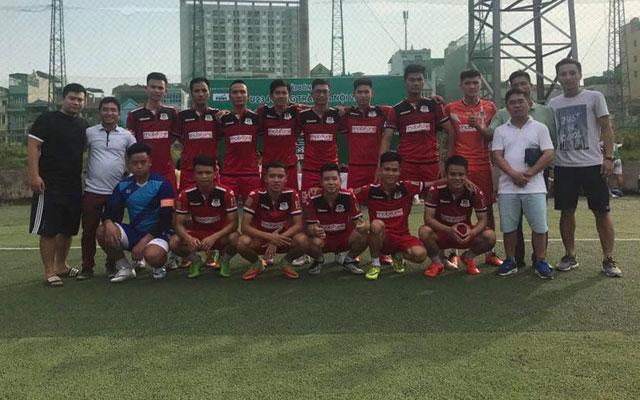 Top Group và Lucky Thanh Hà vào chung kết giải U23 phong trào Hà Nội 2017