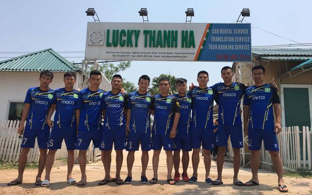 Lucky Thanh Hà và niềm đam mê bóng đá phủi của ông bầu Trần Thanh Tuấn